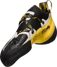 La Sportiva Solution Climbing Shoes Herre whiteyellow